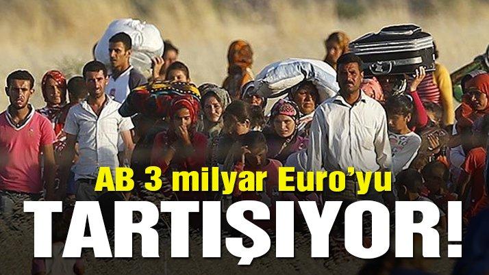 Berger: Türkiye'ye 3 milyar Euro daha verilmesi üzerinde tartışılıyor