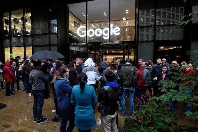 Google'ın Londra ofisi.