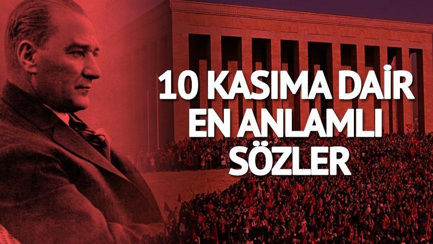 10 Kasım 2018'e özel şiirler ve sözler! Atatürk Haftası yaklaşıyor…