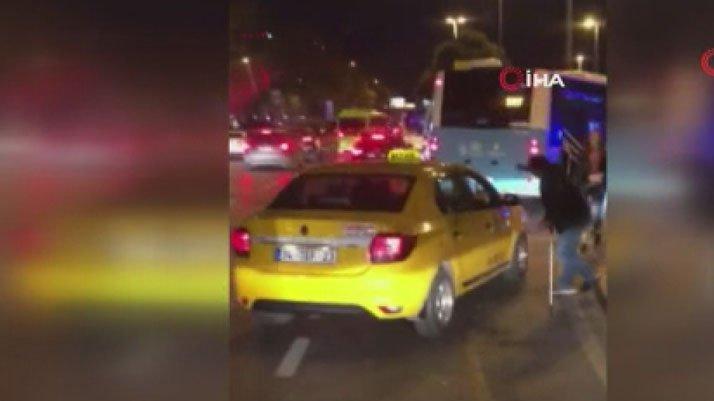 Taksiciler engelli vatandaşı almadı iddiası