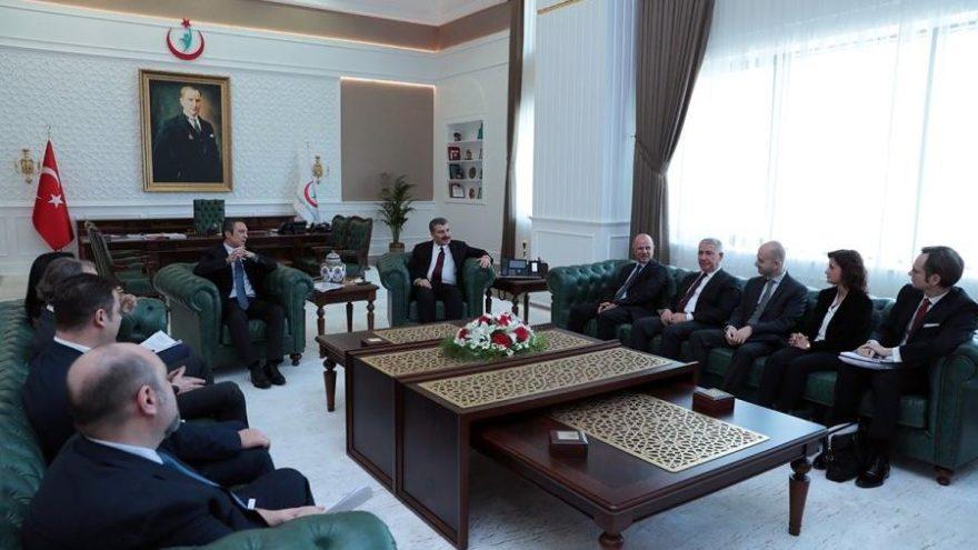 TÜSİAD heyeti Ankara'da temaslarda bulundu