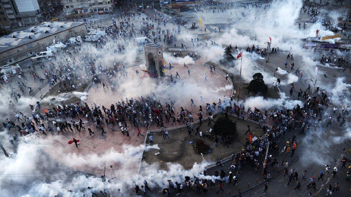 Gezi soruşturması 2014'te başlatılmış