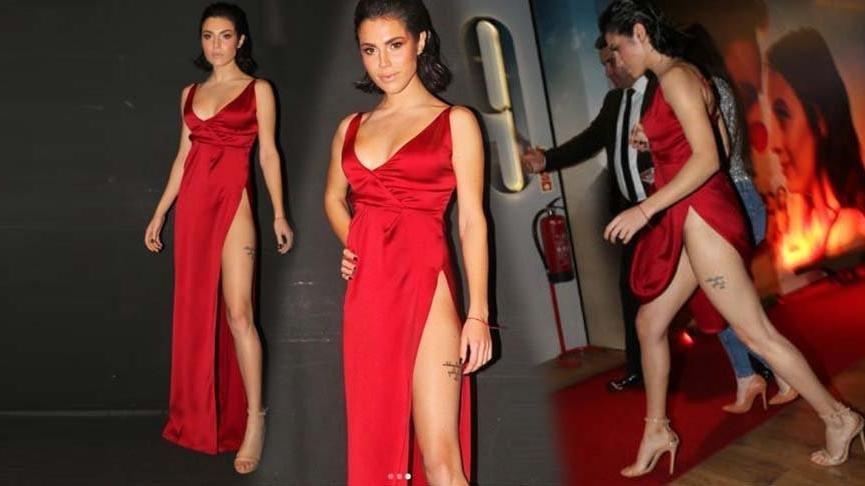Serenay Aktaş'tan olay elbiseyle alakalı açıklama geldi