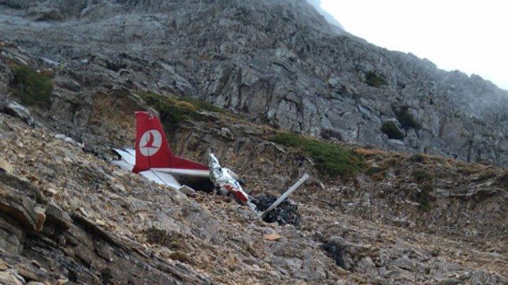 THK: Düşen eğitim uçağı Türk Hava Kurumu'na ait değildir