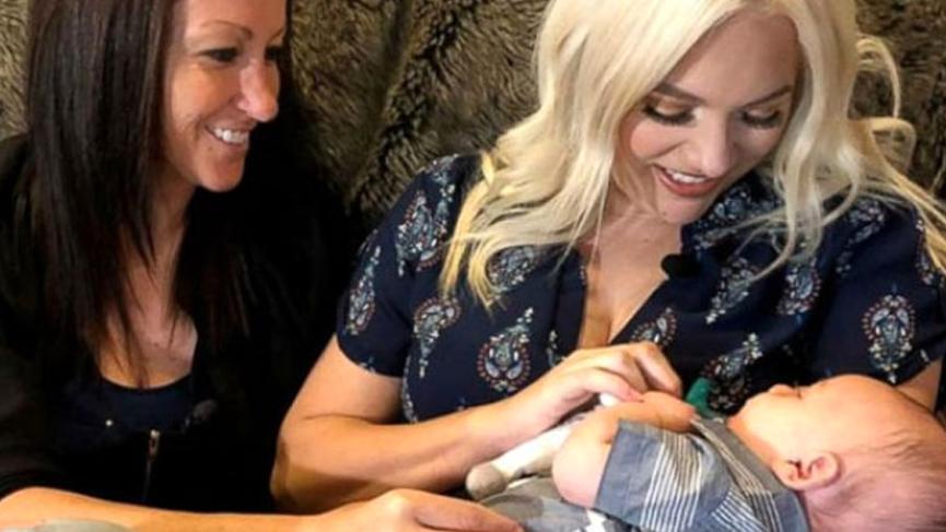 Aynı bebeğe beraber hamile kaldılar, tıp tarihine geçtiler