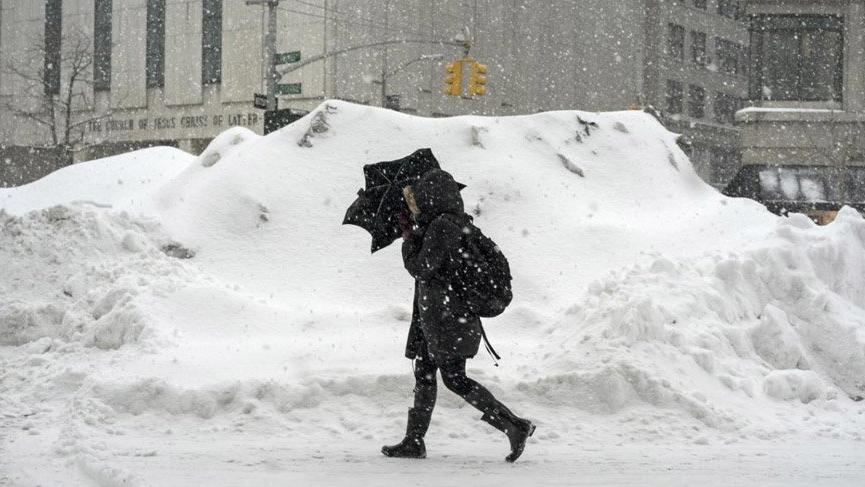 ABD'de kar fırtınası! Ölü ve yaralılar var