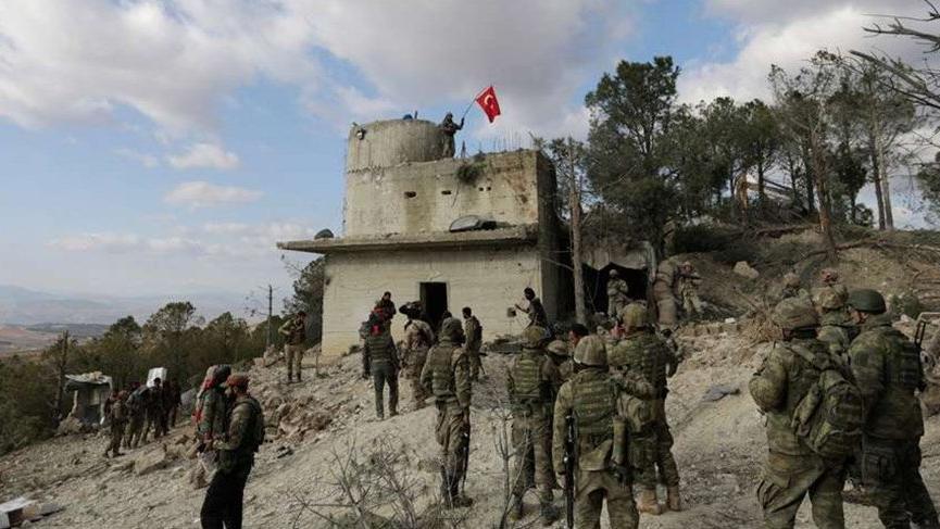Son dakika haberi... TSK, Afrin'de operasyon başlattı!