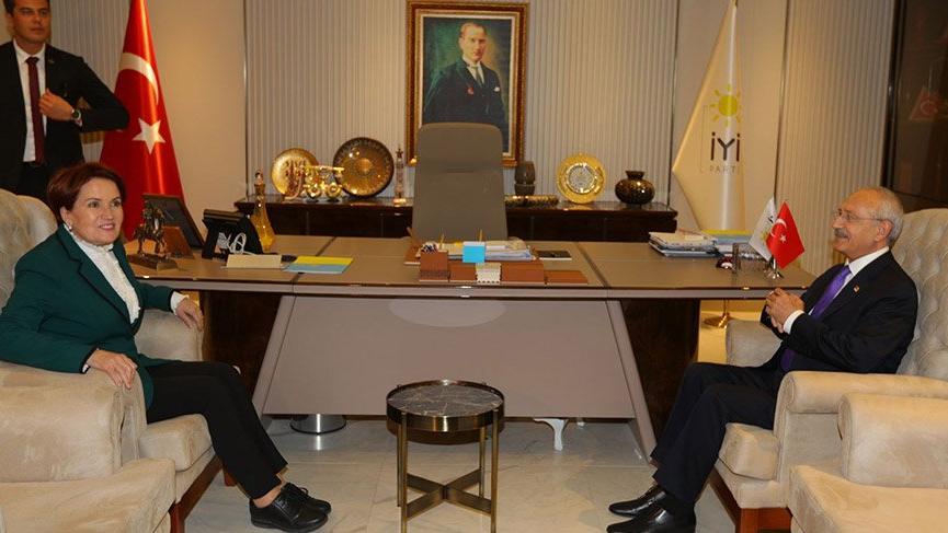 CHP ile İYİ Parti arasında ittifak görüşmeleri