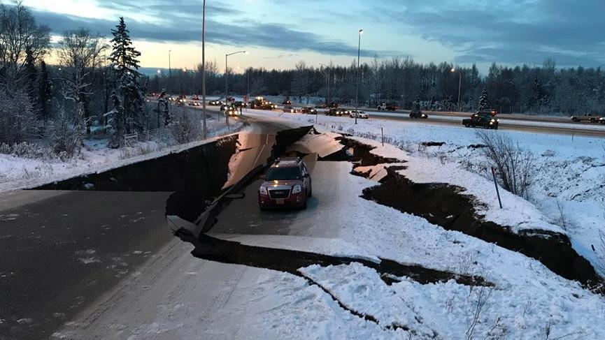 ABD'nin Alaska eyaletinde 7,0 büyüklüğünde deprem