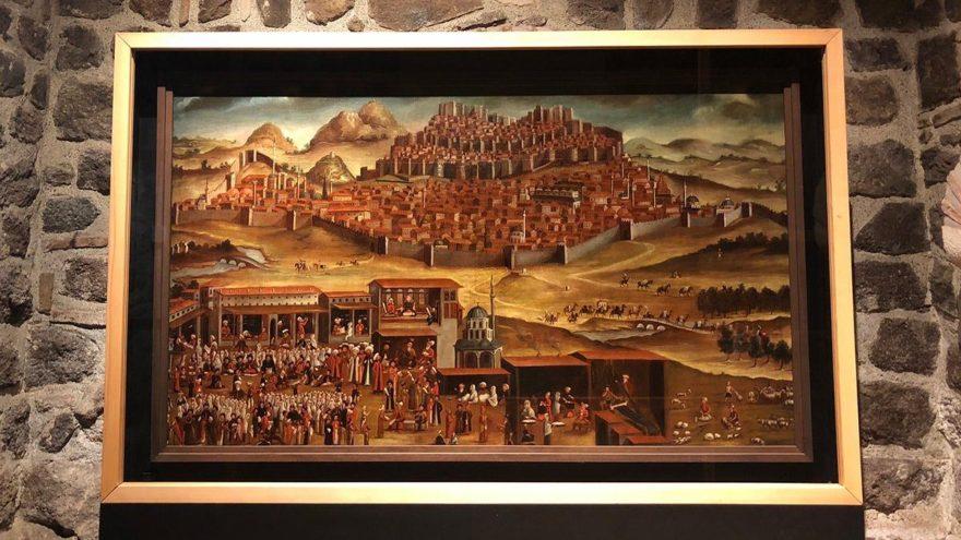 'Ankara Manzarası' iki yıl daha Rahmi M. Koç Müzesi'nde