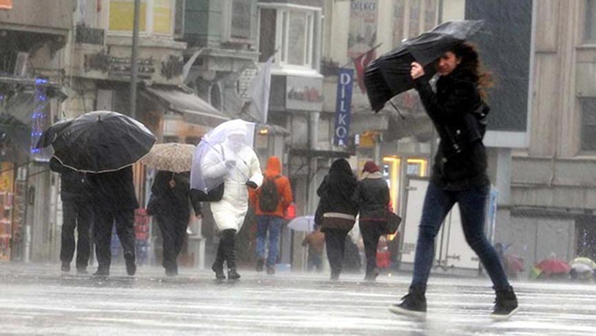 Meteoroloji'den uyarı: Sağanak yağış geliyor