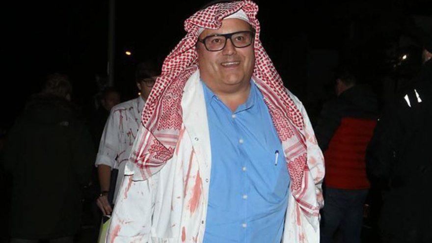 Ünlü iş adamından kan donduran Kaşıkçı kostümü… Bu kez güldürmedi!