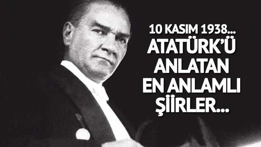 10 Kasım 2018 resmi tatil mi? İşte en anlamlı Atatürk şiirleri…