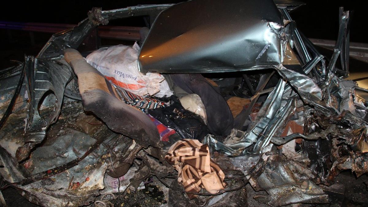Ankara'da feci kaza: Bir aileyi ölüm ayırdı