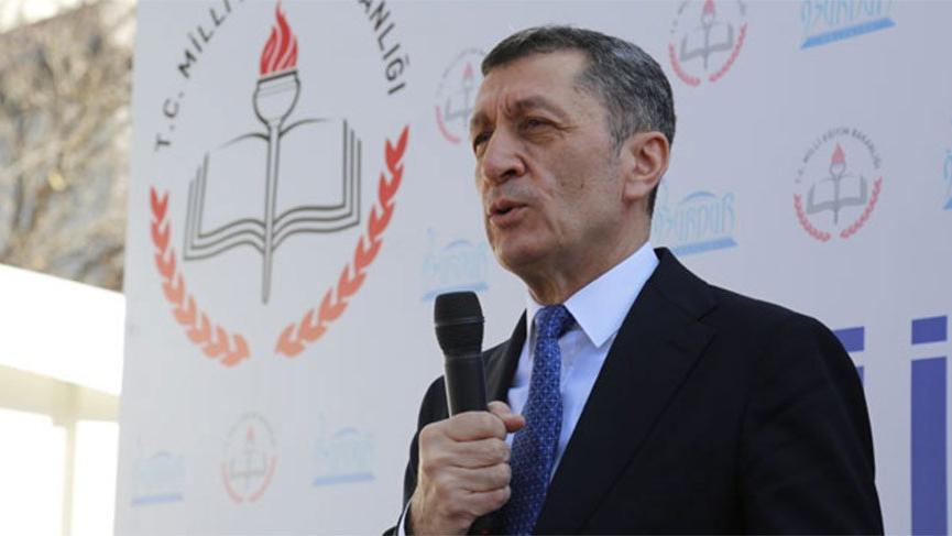 Milli Eğitim Bakanı Ziya Selçuk: Ben de iyi ki öğretmenim