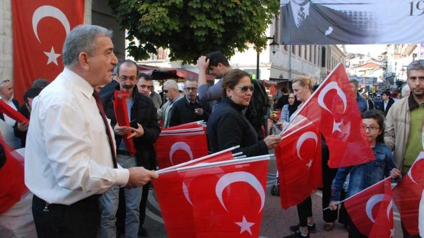 Bartın'da MHP'li belediyeden Ata'ya büyük saygısızlık