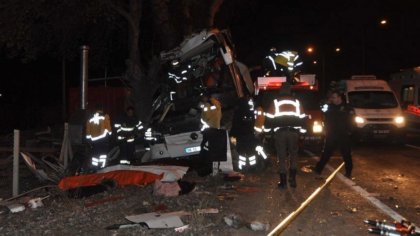 11 kişinin öldüğü tur otobüsü kazasında sürücüye 13 yıl hapis