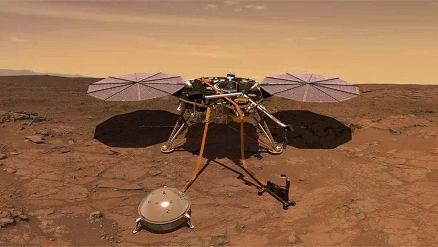 Insight uzay aracı Kızıl Gezegen'e iniş yapacak