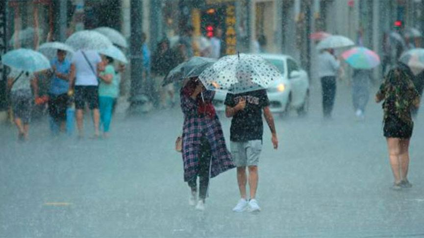 Meteoroloji'den hava durumu uyarısı: Sağanak yağış geliyor! İşte hava durumu…