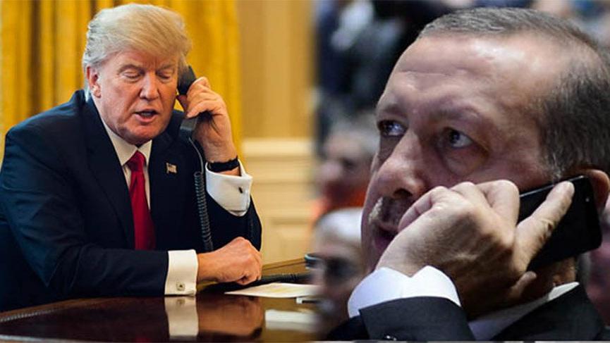 Son dakika haberi… Erdoğan ile Trump arasında flaş görüşme!