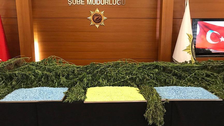 Zehir tacirlerinin yılbaşı hazırlığına polis darbesi