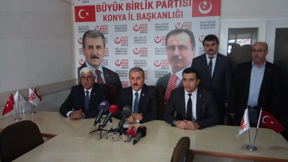 BBP lideri Destici'den 'AKP ile ittifak' açıklaması