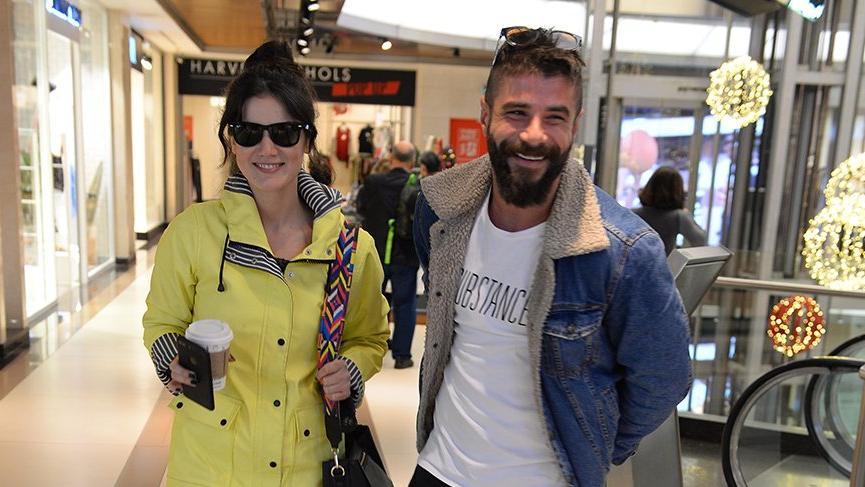 Pınar Deniz ve Berk Cankat'ın aşkı set dışına taştı