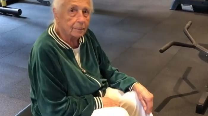 Biricik Suden'in annesi 91 yaşında spora başladı