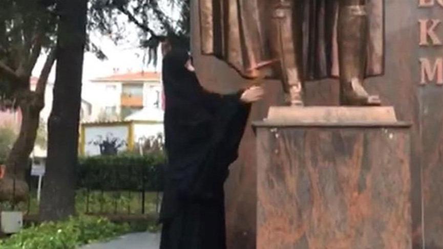 Atatürk büstüne baltayla saldırmıştı! Karar çıktı