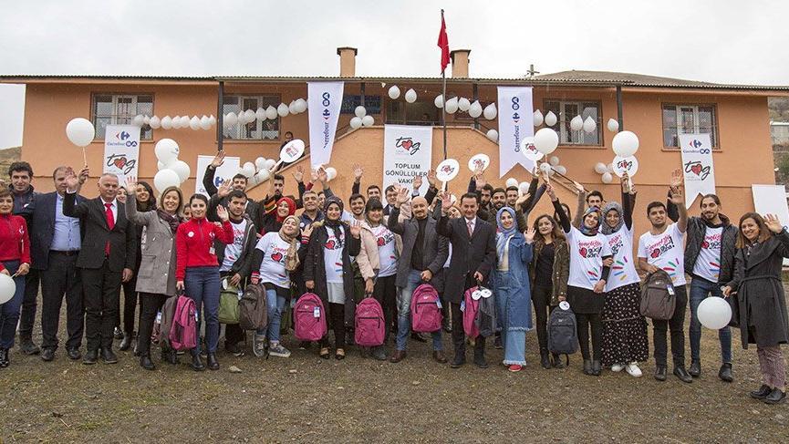 CarrefourSA'dan müşterileriyle Toplum Gönüllüleri Vakfı'na Destek