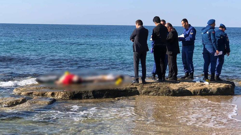 Alanya sahilinde ceset alarmı!