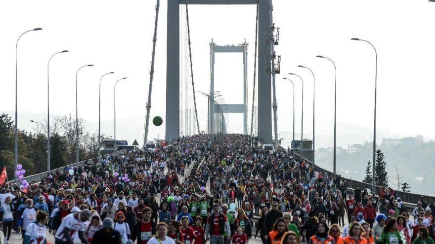 CHP, İstanbul Maratonu'nda koştu