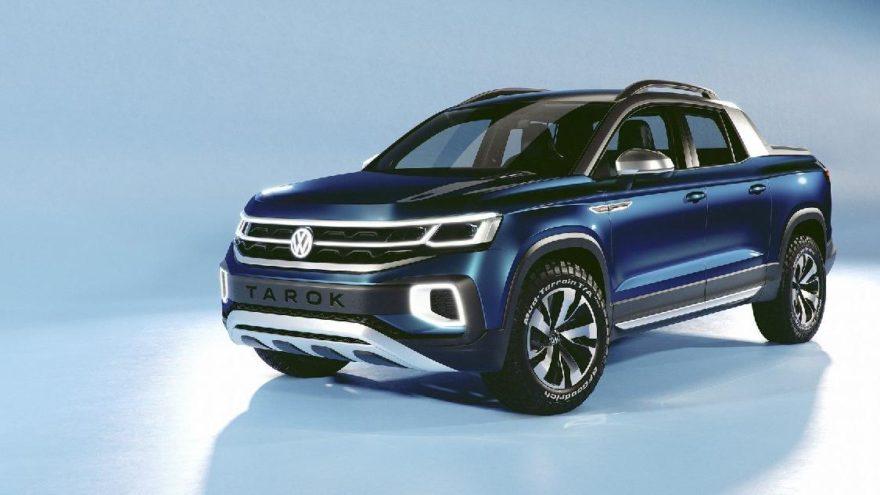 İşte Volkswagen'in kompakt pick-up modeli!
