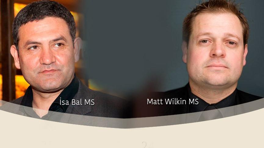 Türkiye'nin en prestijli Tadım Etkiliğinde MS İsa Bal ve MS Matt Wilkin İstanbul'da…