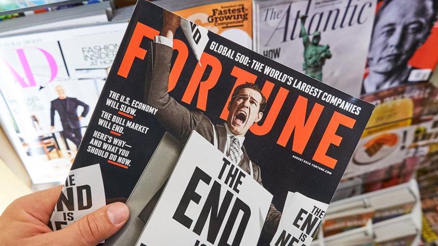 Fortune Dergisi satıldı