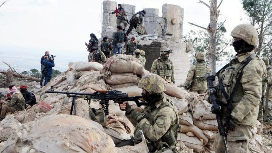 Afrin'deki suç çetesi teslim oldu!