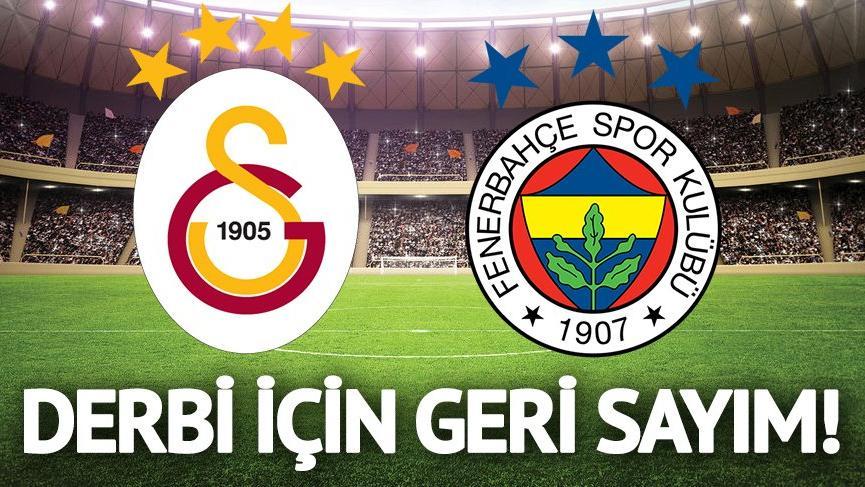 DERBİ GÜNÜ: Galatasaray Fenerbahçe maçı saat kaçta başlayacak? GS FB maçı hangi kanalda?
