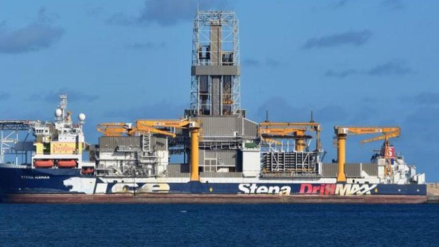 Rumlar, Doğu Akdeniz'de ABD destekli doğal gaz sondajına başladı