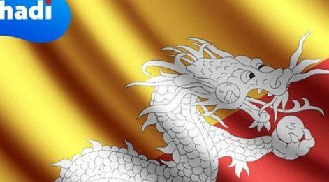 Bayrağında ejderha figürü bulunan ülkenin adı nedir? (Gürleyen Ejderhalar Ülkesi)
