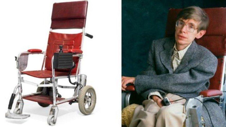 Hawking'in eşyaları satıldı… Milyonlarca TL'ye yarıştılar