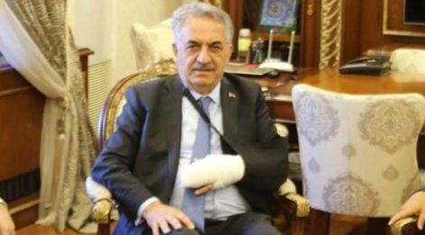 AKP'li Hayati Yazıcı trafik kazası geçirdi