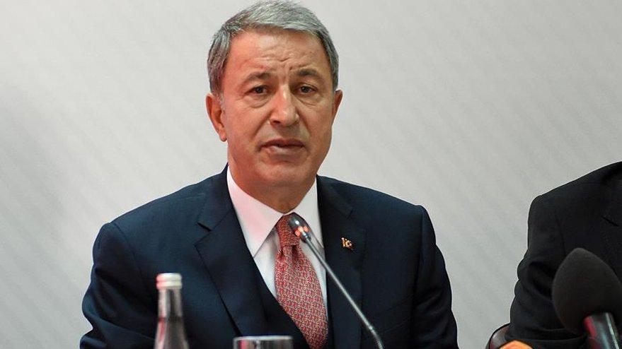 Milli Savunma Bakanı Akar'dan Hakkari'deki patlama ile ilgili açıklama