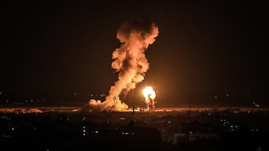 İsrail yine saldırdı! Ölü ve yaralılar var