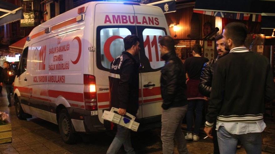 İstanbul Beyoğlu'nda eğlence mekanında şüpheli ölüm!