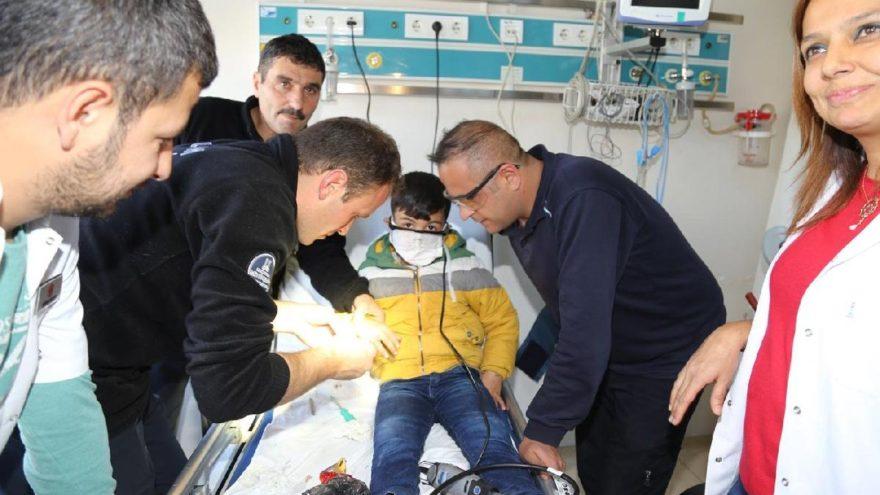 Yer hastane, görevliler itfaiyeci
