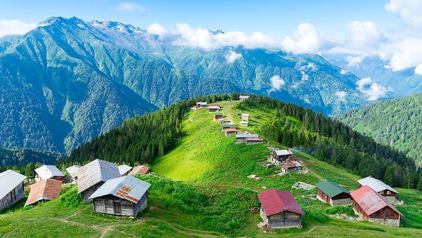 Hırçın Karadeniz'in kaya tırmanış noktaları