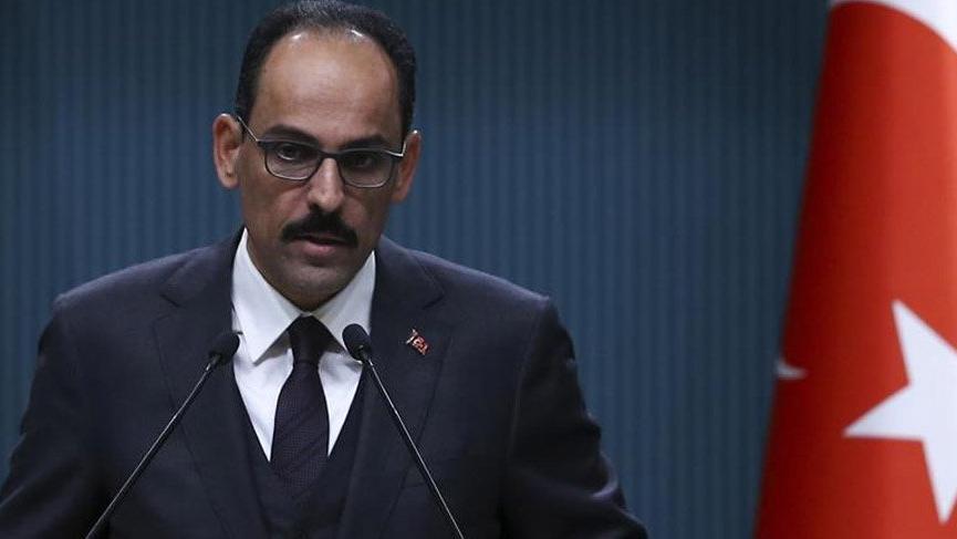 Son dakika… Kalın'dan ABD'nin PKK kararına ilk yorum