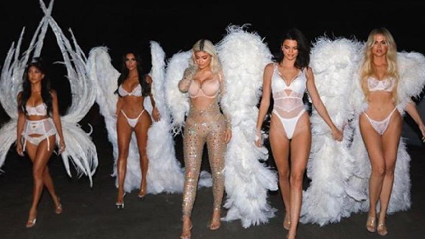Kardashian kardeşler yürekleri hoplattı