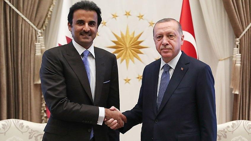 Katar Emiri pazartesi Türkiye'de