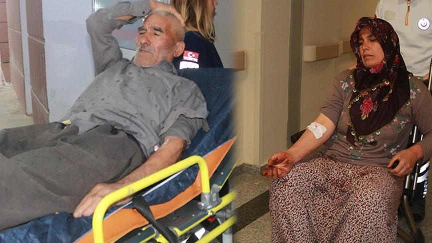 İki grup arasında kavga: 2'si kadın 5 yaralı